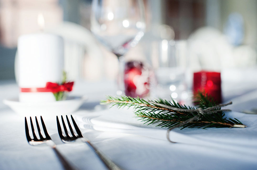 Book a table for christmas
